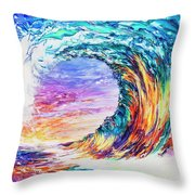 Wave Of Promises Throw Pillow