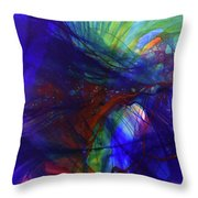 Way Of Escape Throw Pillow by Kate Word