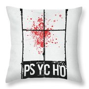 We All Go A Little Mad Throw Pillow