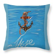 We All Need Hope Throw Pillow