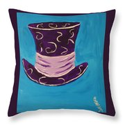 We Are All Mad Throw Pillow