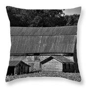 Weathered Barn Throw Pillow