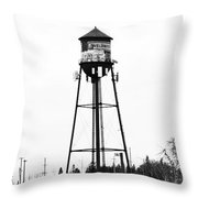 Weldwood Water Tower Throw Pillow
