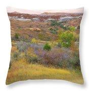 West River Autumn Reverie Throw Pillow
