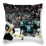Western Conference Throw Pillow