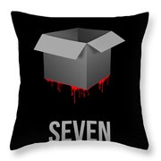What's In The Box Throw Pillow