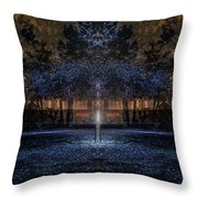 When Courage Springs Forth Throw Pillow