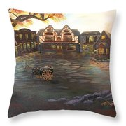 Where Stories Are Told Throw Pillow