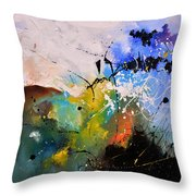 Where The Angels Like To Tread Throw Pillow