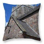 Whimple Church Throw Pillow