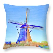 Whimsy Throw Pillow by Fran Riley