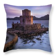 Whispers Of The Past Throw Pillow