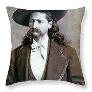 Wild Bill Hickok  1873 Throw Pillow