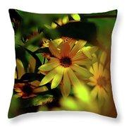 Wild Sunflower Throw Pillow