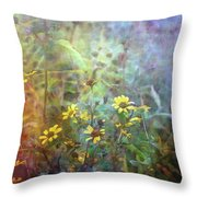 Wildflower Tangle 5694 Idp_2 Throw Pillow