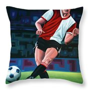 Willem Van Hanegem Painting Throw Pillow