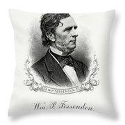 William P. Fessenden Throw Pillow