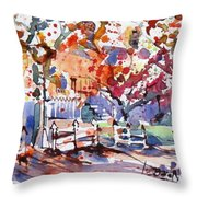 Williamsburg Color Throw Pillow