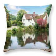 Willy Lott's House Throw Pillow
