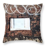 Window Into The Soul Throw Pillow