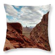 Window On The Desert Throw Pillow