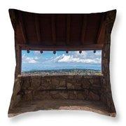 Window View - Ccc Lookout- Cedar Breaks - Utah Throw Pillow