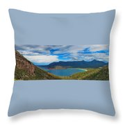 Wineglass Bay Throw Pillow