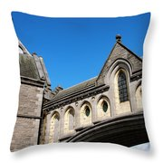 Winetavern Street Arch Throw Pillow