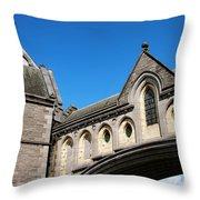 Winetavern Street Arch Throw Pillow
