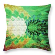 Winged Migration Throw Pillow