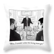 Winners Banquet Throw Pillow