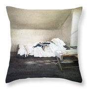 Winter At Valley Forge Throw Pillow
