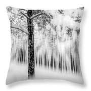Winter Throw Pillow by Okan YILMAZ