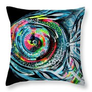 Winter Tail Just Chillin Throw Pillow