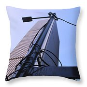 Wired Wilshire Downtown Throw Pillow