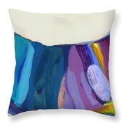 With Joy Throw Pillow