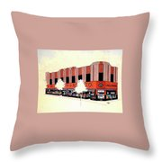 Woolworth On Market St. Throw Pillow