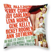 Word And Music 1948 Film Throw Pillow