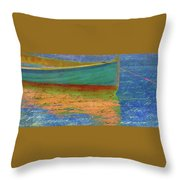 Words In The Water Throw Pillow