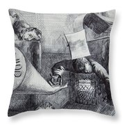 Would You Die For Him Throw Pillow by Anthony Falbo