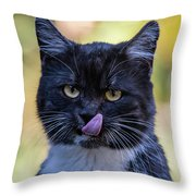 Wow That Looks Appetizing Throw Pillow