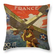 Www1 Join And Serve  Throw Pillow