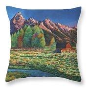 Wyoming Throw Pillow