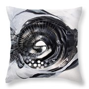 X Ray Fish Throw Pillow