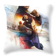 xXx Return of Xander Cage Throw Pillow