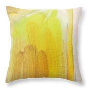 Yellow #3 Throw Pillow