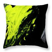 Yellow, No.2 Throw Pillow by Eric Christopher Jackson