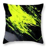 Yellow, No.8 Throw Pillow by Eric Christopher Jackson