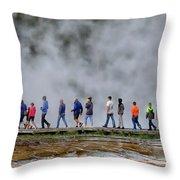 Yellowstone Lineup Throw Pillow