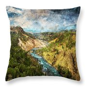 Yellowstone National Park - 05 Throw Pillow